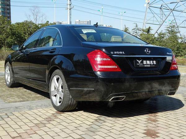【苏州】2012年8月 奔驰 s级 s300l 3.