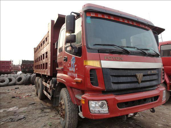 2012年8月 二手梁山二手货车出售豪沃欧曼德龙后八轮工程自卸车 价格15万元