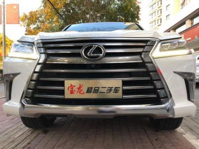 雷克萨斯 LX  2017款 570 动感豪华版