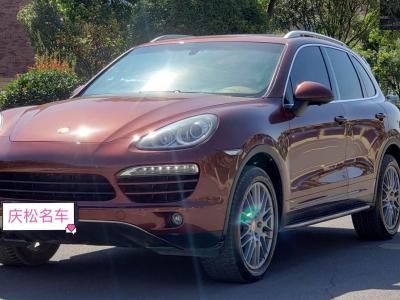 保时捷 Cayenne  2014款 Cayenne Platinum Edition 3.0T