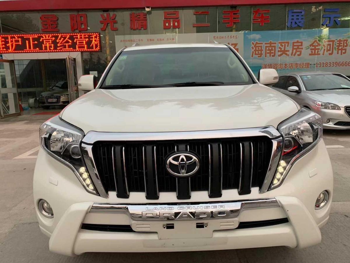 2014年5月 丰田 普拉多(进口) 2.7L 自动豪华版图片