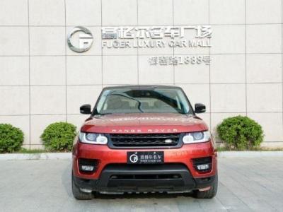 路虎 揽胜运动版  3.0T V6 SC 智利红限量版图片
