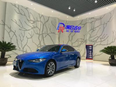 阿爾法·羅密歐 Giulia  2017款 2.0T 200HP 豪華版圖片