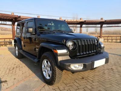 Jeep 牧馬人  2019款 2.0T Sahara 四門炫頂版