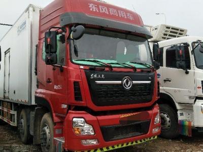 东风天龙独立冷藏车,国五排放图片