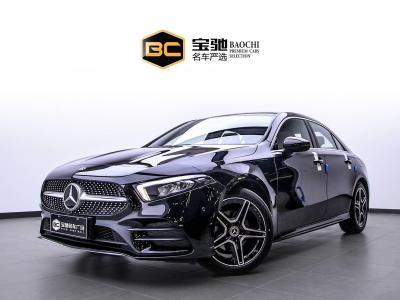 奔驰 奔驰A级  2019款  改款 A 200 L 运动轿车