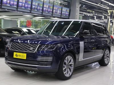 路虎 攬勝  2018款 3.0 V6 SC AB 尊崇創世加長版
