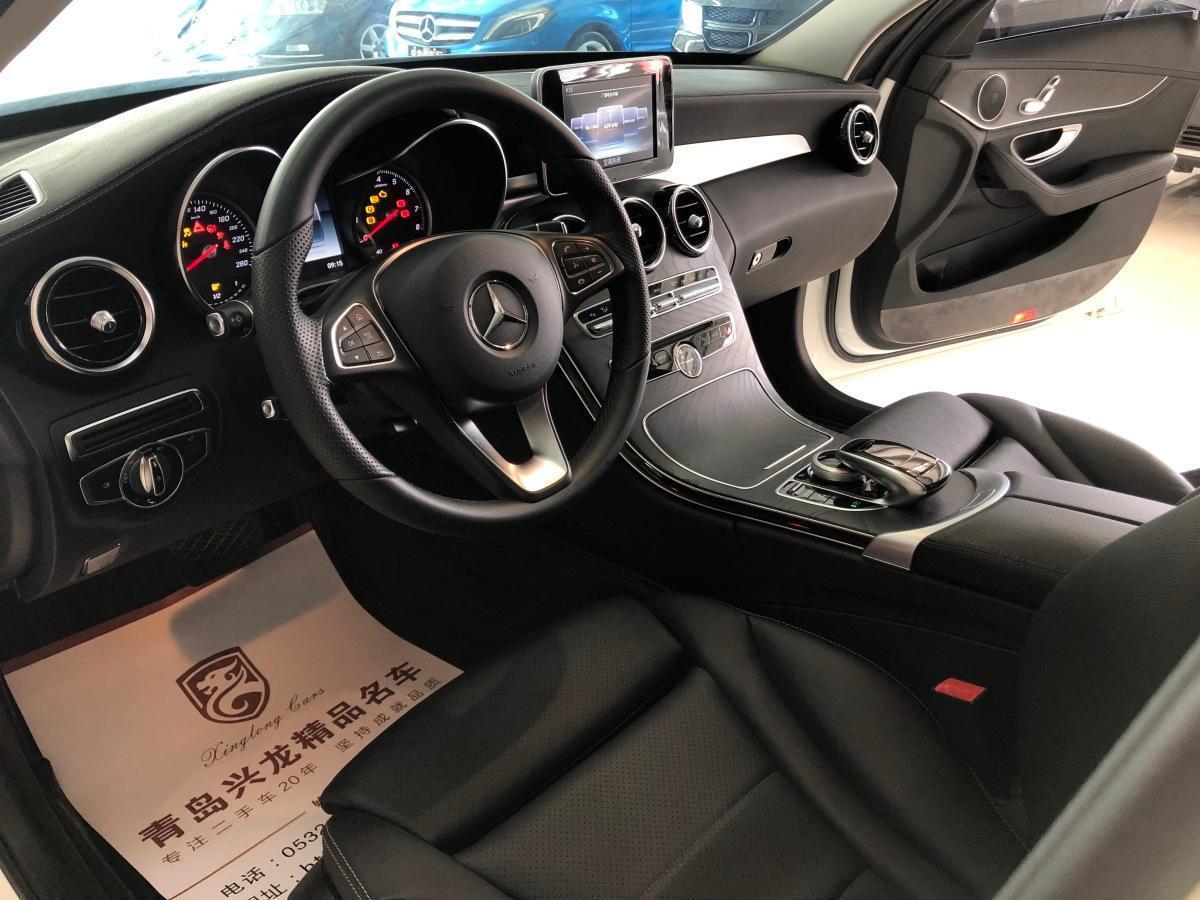 奔驰 奔驰C级  2017款 C 180 L 运动版图片