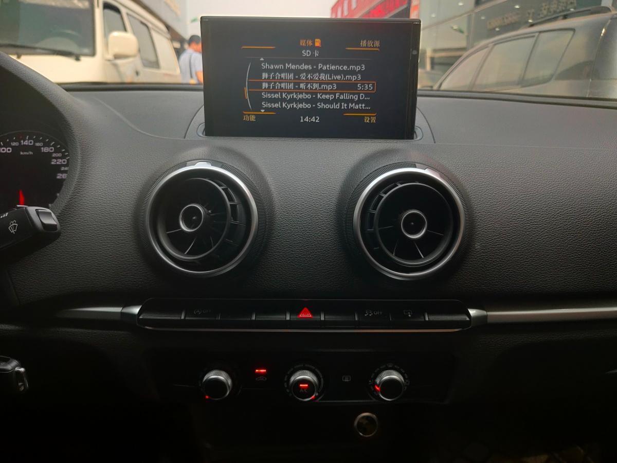 奥迪 奥迪A3  2017款 Limousine 35 TFSI 进取型图片