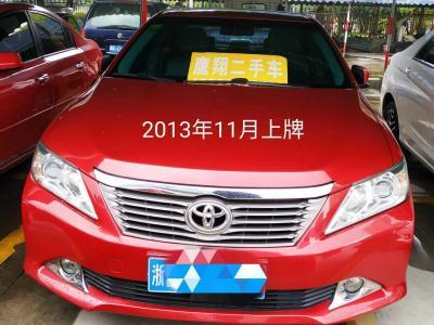 2013年12月 丰田 凯美瑞  2.0G 豪华版图片