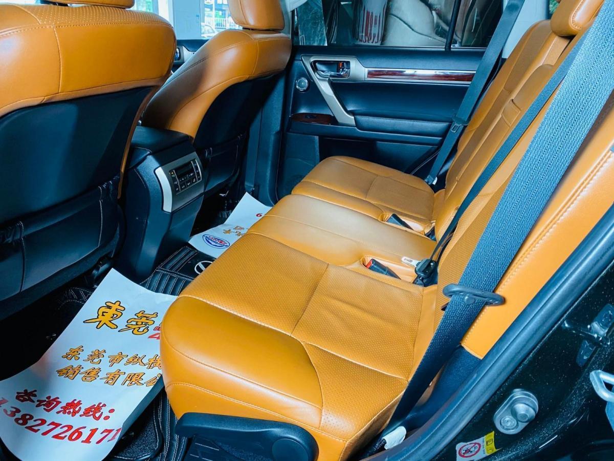 雷克萨斯 GX  2014款 400 尊贵版图片