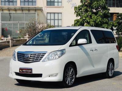 2012年3月 丰田 埃尔法(进口) 3.5L 豪华版图片