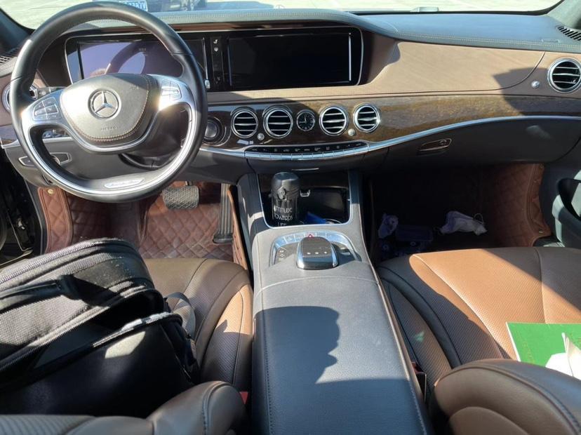 奔驰 奔驰S级  2016款 S 320 L 商务型图片
