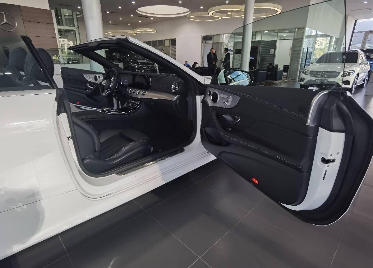 奔馳 奔馳E級  2018款 E 200 敞篷轎跑車圖片
