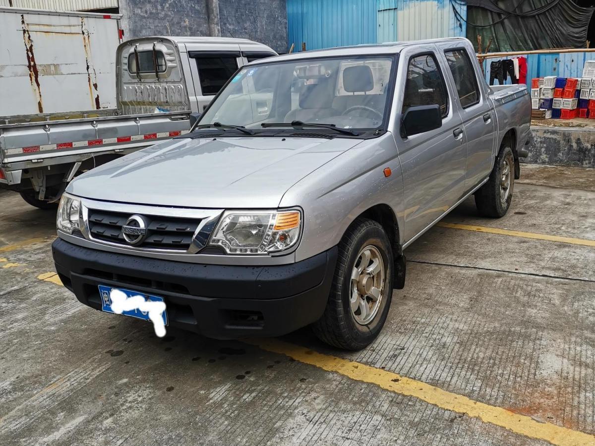 南平二手日产D222013款2.2T柴油两驱标准型手动挡报价3.9万