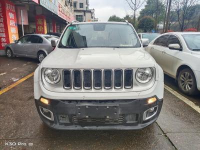 Jeep 自由侠  2017款 180T 自动智能版