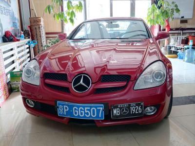 奔驰 奔驰SLK级  2008款 SLK 200K PASSION图片