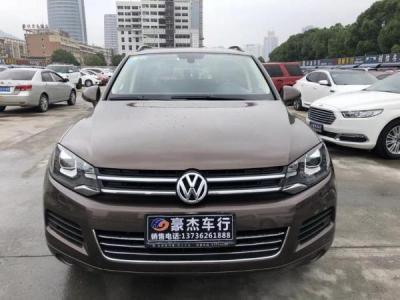 2012年11月 大众 途锐 3.0T 标配型 汽油版图片