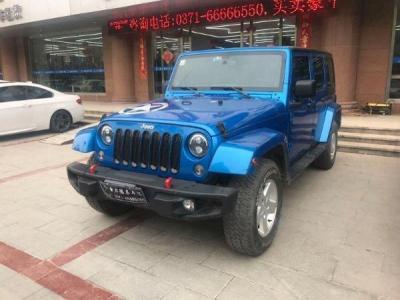 Jeep(进口)牧马人2.8 TD 四门舒享版 Sahara图片