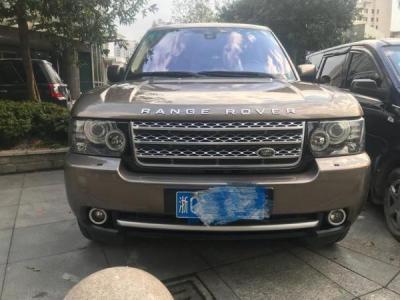 2012年8月路虎揽胜行政版5.0T SC 汽油型图片