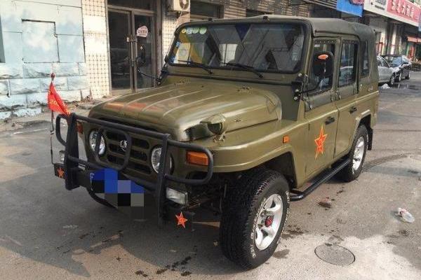 【沈阳】2015年3月 jeep jeep2500 2015款 bj 212 bj2023chb2 手动