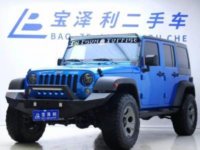 2016年4月 Jeep 牧马人 3.0L 四门 舒享版图片