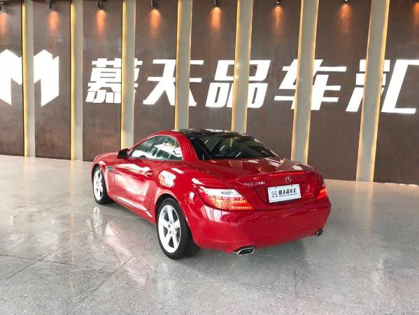 奔驰 奔驰SLK级  2011款 SLK200 1.8T 时尚型图片