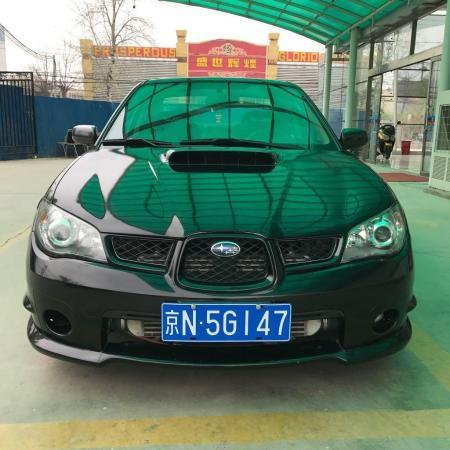 斯巴辺`e�k`9olzg>XX��H_【北京】2006年8月 斯巴鲁 翼豹 wrx 2.5t 黑色 手动挡