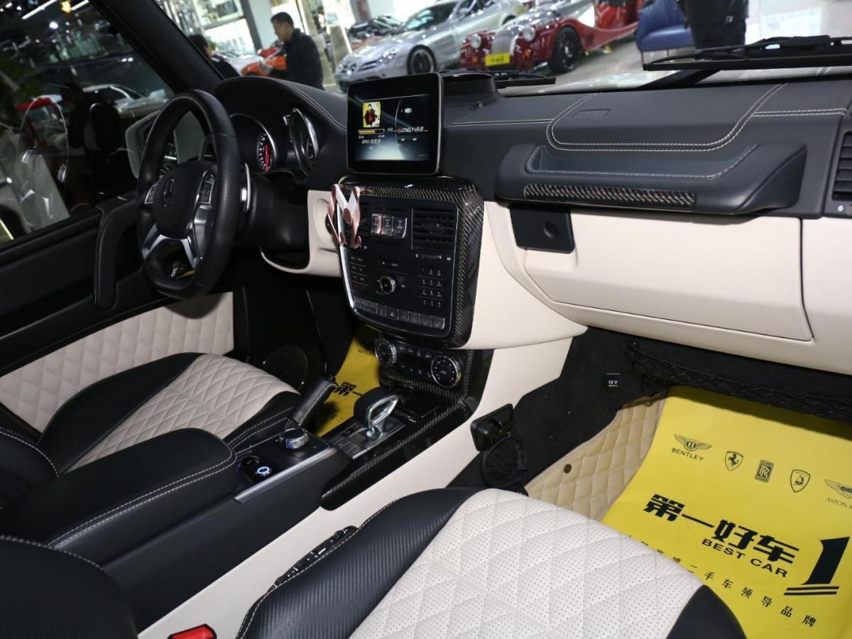 奔驰 AMG  2016款 G63 AMG 5.5T 4MATIC Edition 463图片