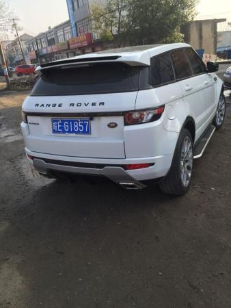 【马鞍山】2012年2月 路虎 揽胜极光 coupe 2.0t 耀动版 白色 自动档