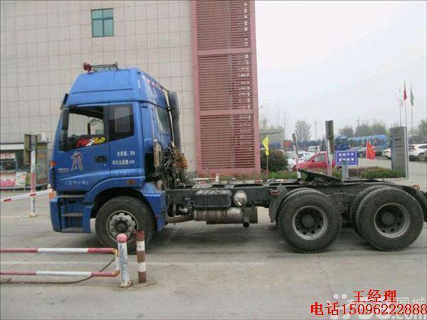 【济宁】2013年8月 欧宝 gt 欧曼gtl双驱牵引车 380马力 红色 自动档图片