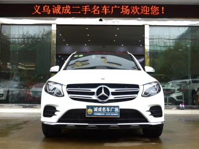 奔馳 奔馳GLC  2018款 GLC260 2.0T 4MATIC 豪華型