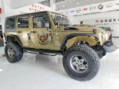 2008年8月 Jeep 牧马人(进口) 3.8L Sahara 四门版图片