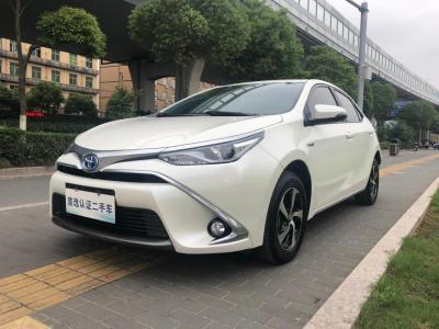 2018年5月 丰田 雷凌 双擎 1.8H GS-V CVT尊贵版 国VI图片