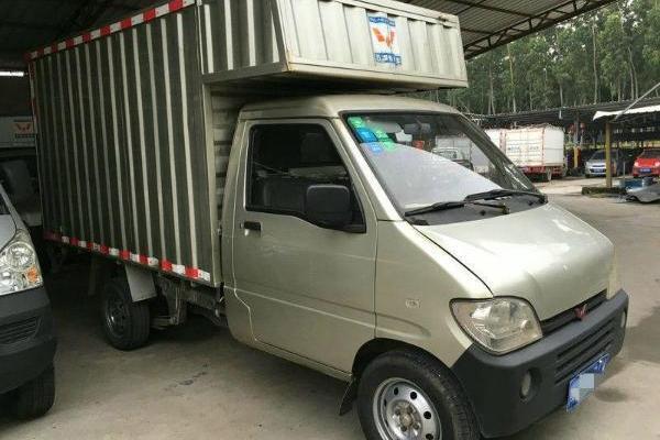 五菱之光小卡 2009款 1.0l 手动 单排厢式小货车图片