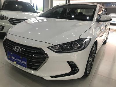 现代 领动  2016款 1.6L 自动智炫・豪华型