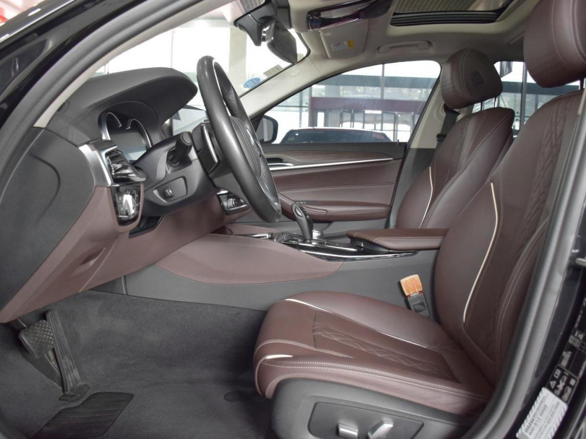 宝马 宝马5系  2018款 改款  530Li xDrive 豪华套装图片