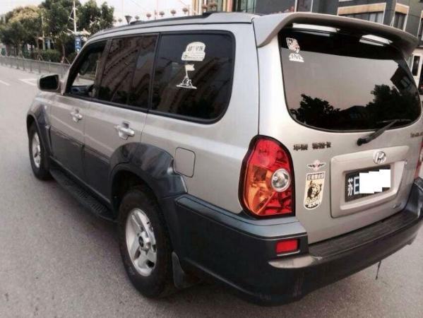【苏州】2004年8月现代特拉卡2.9柴油版4驱银灰手动挡翼虎刷限速图片