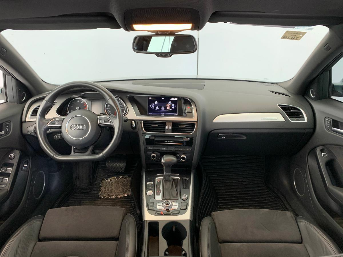 奥迪 奥迪A4L  2013款 40 TFSI quattro运动型图片