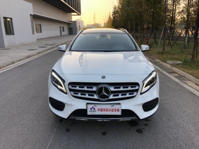 奔驰 奔驰GLA  2019款 GLA 200 时尚型
