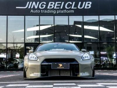 日产GT-R&nbsp3.8T Premium Edition 黑色内饰