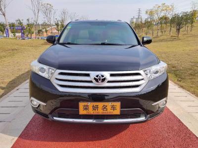 丰田 汉兰达  2012款 2.7L 两驱7座豪华版