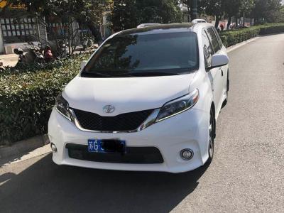 2017年11月 丰田 塞纳(进口) 3.5L 两驱LE图片