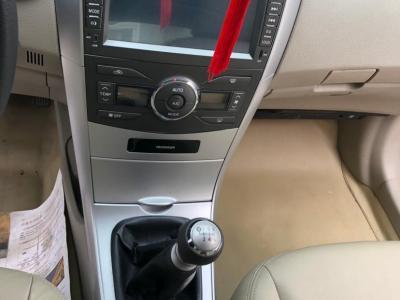 丰田 卡罗拉  2011款 1.8L 手动GLX-S