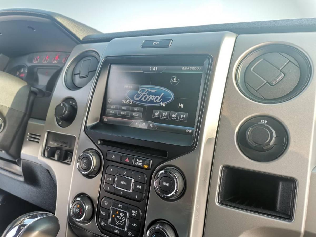 福特 F-150  2011款 6.2L SVT Raptor SuperCab图片