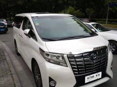 2016年7月 丰田 埃尔法(进口) 3.5L 豪华版图片