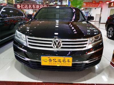 2013年3月 大众 辉腾(进口) 3.0L 商务型图片
