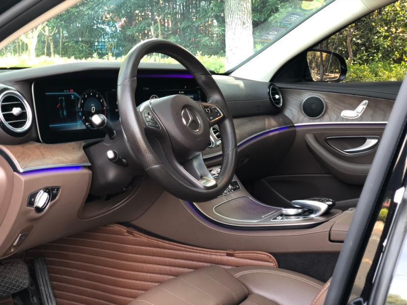 奔驰 奔驰E级  2018款 改款 E 200 L图片