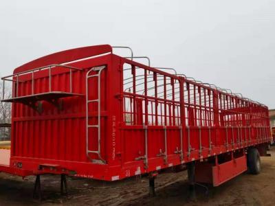 转让二手各种仓栏半挂车 可以以旧换新以重换轻 手续齐全 包过户 可挂靠图片