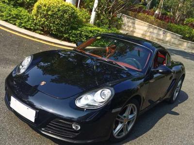 保時捷 Cayman  2012款 Cayman Black Edition 2.9L圖片